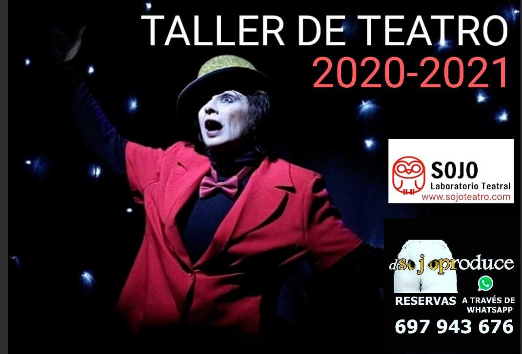 Taller teatro Madrid - Curso 20/21